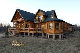 Large Log Cabin Floor Plans Golden Eagle Log And Timber Homes Log Home Cabin Pictures