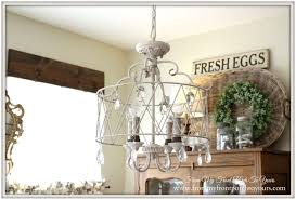 Country French Chandelier by From My Front Porch To Yours French Chandeliers