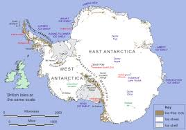 Continent World Map by Antartica Figure 1 Map Of Antarctica Image Credit British