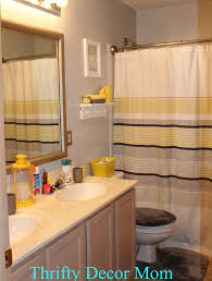 yellow bathroom decorating ideas yellow bathrooms ideas inspiration four square yellow and gray