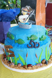fishing 50th birthday cake cakecentral com