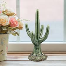 modern cactus ring holder images Ckk home d cor lp stonebriar ceramic cactus jewelry stand jpg