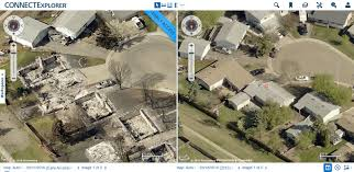 Wildfire Firefighter Jobs Alberta by High Tech Aerial Photos Reveal Neighborhoods Decimated By Alberta