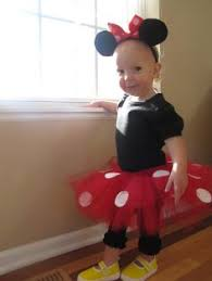 Minnie Mouse Halloween Costume Toddler Diy Minnie Mouse Tutu Super Cute Super Easy