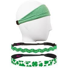 hipsy headbands hipsy assorted green st s day clover headband gift