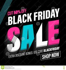 best graphic card deals black friday black friday sale banner poster discount card stock illustration