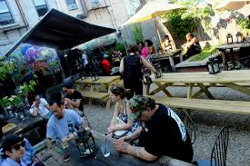 Backyard Pub And Grill by Map The Best Places To Drink Outdoors In Bed Stuy Bed Stuy