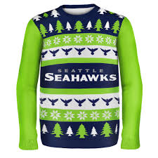 seattle seahawks nfl ugly sweater wordmark