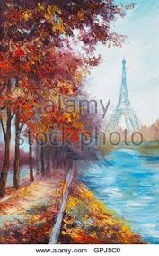 eiffel tower watercolor painting stock photo royalty free image