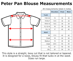 blouse size chart hey retro clothing sizing help and size charts