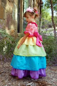 rainbow princess dress scattered thoughts of a crafty mom by