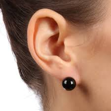 black onyx stud earrings kobelli jewelry kobelli present black diamond earrings for women