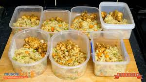 macro friendly healthy meal prep for bodybuilding and fitness