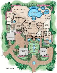 floor plans mansions ultimate home 66024we architectural designs house plans