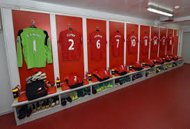 dressing room pictures this is how the new liverpool dressing room at anfield will