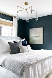benjamin moore dark harbor paint color would be gorgeous in an