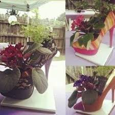 high heel vase for party centerpiece wonderful for bridal showers
