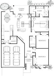 large floor plans simple family house single floor plans large home modern sims 4