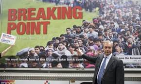 nigel farage s anti migrant poster reported to politics