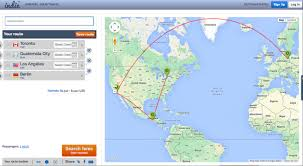 Map Route Planner by The Fiscal Backpacker Cheap International Flights Travelpulse