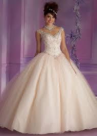 pink embroidered wedding dress mori 89006 chagne beaded quinceanera gown rissyroos com