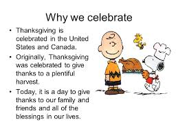 Is Thanksgiving Today Thanksgiving Ppt