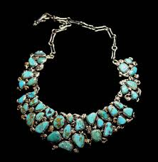 silver turquoise necklace images Silver and turquoise jewelry jpg
