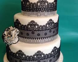 wedding cake lace edible lace etsy