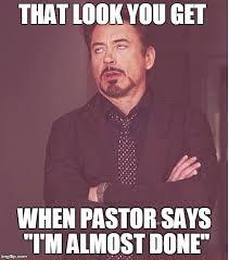 Pastor Meme - face you make robert downey jr meme imgflip