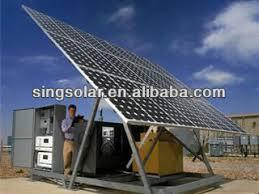 le bureau solaire grid pratique 2kw solaire système énergétique pour la maison