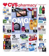 cvs weekly ad august 20 26 2017
