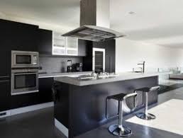cuisine ilo central ilot central cuisine noir info nov galerie avec cuisine design