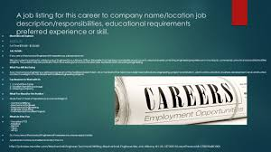 Computer Hardware Engineer Job Description Engineering And Stem Related Careers Ppt Video Online Download