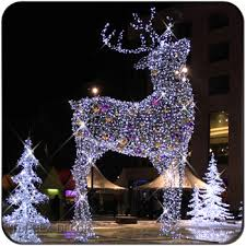 large decorations outdoor led lighted reindeer buy led