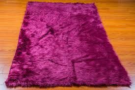 Fuschia Area Rug X 8 New Premium Violet Shag Fur Area Rug Nursery Room Decor Home
