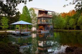 louisiana house pond house sustainable luxury in louisiana eluxe magazine