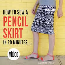 knit pencil skirt u2013 made everyday