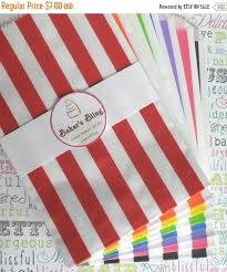 popcorn favor bags on sale 50 rainbow stripe favor bags stripe carnival bags stripe