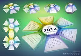 2012 calendar hexahedral psd by cartonus on deviantart