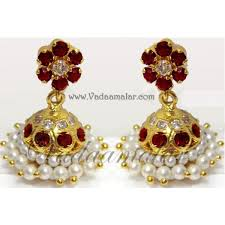 jhumkas earrings jhumka earrings ethnic pearl jhumkis jhumkas