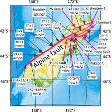 Fault Lines United States Map by Major Intracontinental Strike Slip Faults And Contrasts In