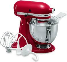 red kitchenaid mixer ksm150pser