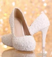 wedding shoes india heels white pearl wedding shoes online shopping india
