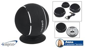 orb wireless dual stereo speaker promotional products by