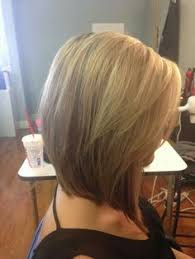 medium length stacked hairstyles haircut trends pinterest
