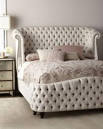 Upholstered Bed Frame Cole California high end bedroom furniture at neiman marcus