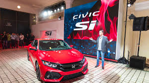 2017 honda civic si premieres at los angeles auto show