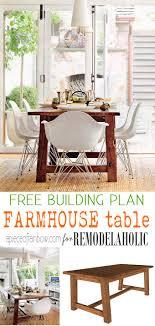 Building A Farmhouse Dining Table Remodelaholic Build A Farmhouse Dining Table
