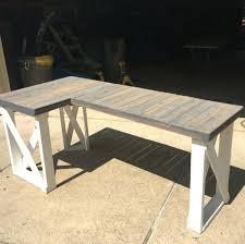 reclaimed wood l shaped desk l shaped wood desk l shaped desk office image of reclaimed wood l