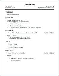 exle of resume for students sle resume for high school student